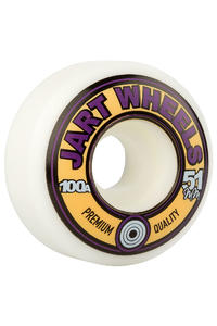 Jart Skateboards Retro 51mm Rollen (white) 4er Pack