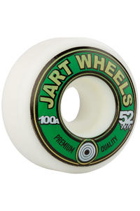 Jart Skateboards Retro 52mm Rollen (white) 4er Pack