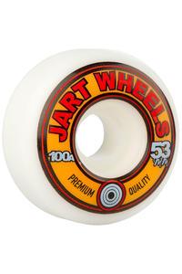 Jart Skateboards Retro 53mm Wheel (white) 4 Pack