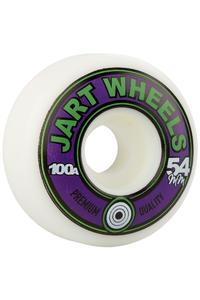 Jart Skateboards Retro 54mm Rollen (white) 4er Pack