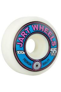 Jart Skateboards Retro 55mm Wheel (white) 4 Pack