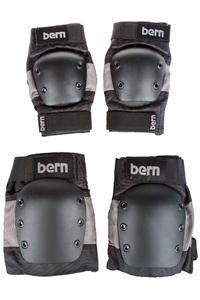 Bern Adult Protection-Set (grey black)