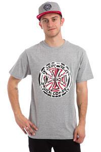 Independent Shredded T-Shirt (heather grey)