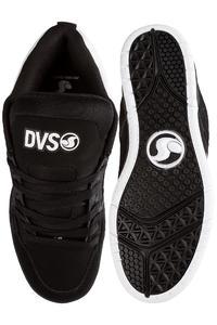 DVS Comanche Leather Shoe (black white black)