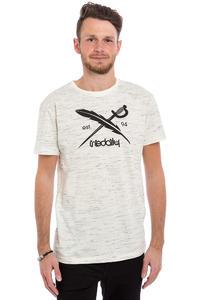 Iriedaily Mesh Flag T-Shirt (white melange)