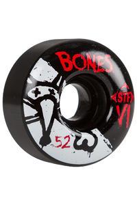 Bones STF-V1 Series II 52mm Rollen (black) 4er Pack