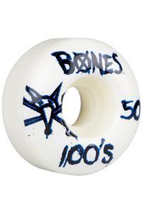 Bones 100's-OG #14 Slim 50mm Wheel (white) 4 Pack