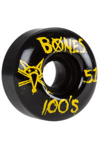 Bones 100's-OG #14 51mm Wheel (black yellow) 4 Pack