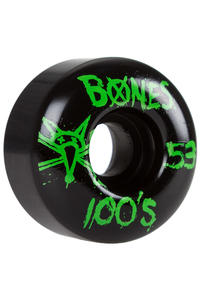 Bones 100's-OG #14 53mm Rollen (black green) 4er Pack