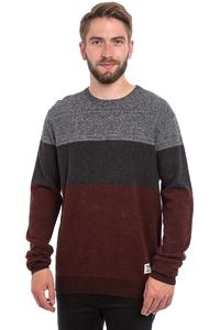 Iriedaily Seed Degrade Sweatshirt (anthracite red)