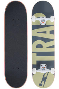 "Trap Skateboards Classic Big Logo 8.25"" Complete-Board (grey)"