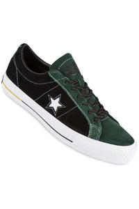 Converse CONS One Star Pro Shoe (deep emerald black yellow)
