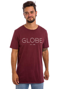 Globe Phase T-Shirt (deep red)