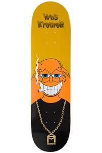 "Sk8Mafia Kremer Spun 8.25"" Deck (orange black)"