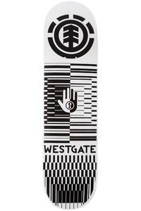 "Element Westgate Optical Helium 8"" Deck (white black)"