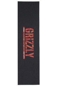 Grizzly Santiago Camo Stamp Print Griptape (black red)