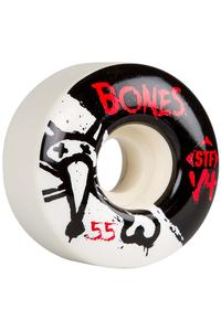 Bones STF-V4 Series II 55mm Rollen (white) 4er Pack