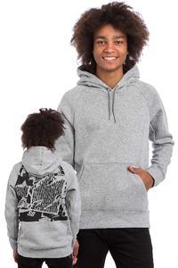 Nike SB Icon Ripped Hoodie (dark grey heather)