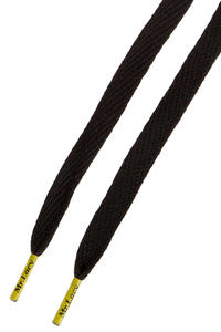 Mr. Lacy Flatties Laces (black yellow)