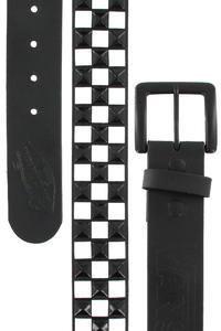 Vans Studded Leather Gürtel (black white)