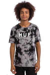HUF Bleach Wash Original Logo T-Shirt (black)