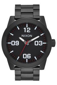 Nixon The Corporal SS Uhr (all black white)
