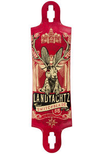 "Landyachtz Switchblade Maple Jackalope 36"" (91,4cm) Longboard Deck 2016"