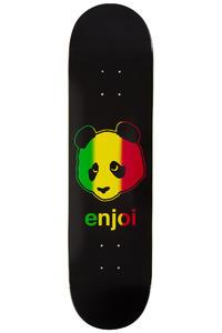 "Enjoi Rastafari Panda 8.125"" Deck (black)"