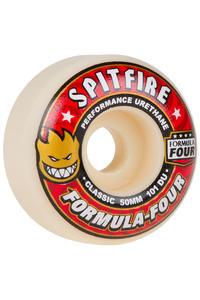 Spitfire Formula Four Classic 50mm Rollen (white red) 4er Pack