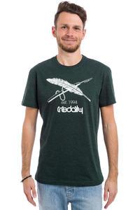 Iriedaily Harpoon Flag T-Shirt (deep lake)