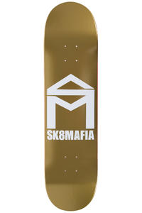 "Sk8Mafia House Logo 8"" Deck (gold)"