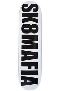 """Sk8Mafia OG Logo 7.875"""" Deck (white black)"""