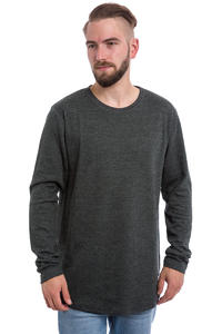 Cleptomanicx Mesher Longsleeve (heather black)