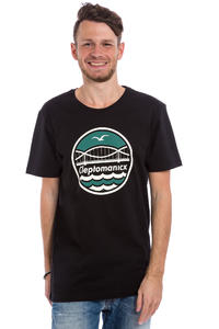 Cleptomanicx City Bridge T-Shirt (black)