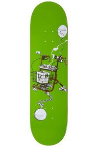 "Antiz Skateboards Lazy Rider 8.25"" Deck (green)"