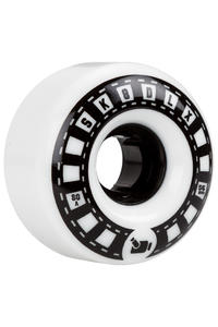 SK8DLX VHX Cruiser Series 56mm Rollen (white black) 4er Pack