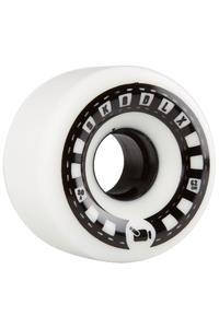 SK8DLX VHX Cruiser Series 62mm Wheel (white black) 4 Pack