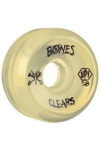 Bones SPF Clears 58mm Rollen (clear natural) 4er Pack