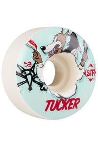 Bones STF Tucker Wolfpack 53mm Rollen (white) 4er Pack
