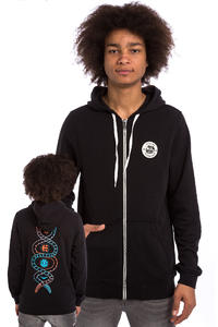 Etnies x Element Vision Serpent Zip-Hoodie (black)