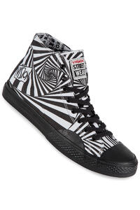 Vision Streetwear Canvas Hi Shoe (black white)