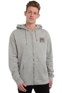 Vision Streetwear Logo Zip-Hoodie (grey marle)