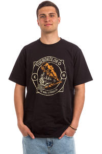 Turbokolor TNS Haslam Graveyard Train T-Shirt (black)