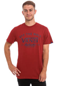 Vans Dalton T-Shirt (red dahlia)