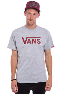 Vans Classic T-Shirt (athletic heather red dahlia)