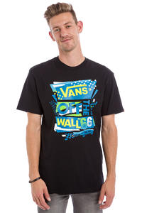 Vans Stenciled II T-Shirt (black seaport)