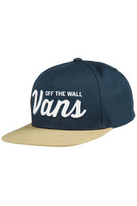 Vans Wilmington Snapback Cap (dress blues)