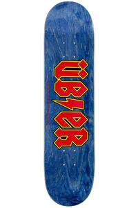 """Über Skateboards Reality Bites 7.75"""" Deck (blue red)"""