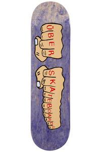 """Über Skateboards Knuckleduster 8.375"""" Deck (purple)"""