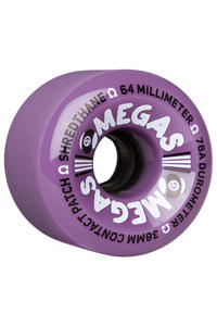 Sector 9 Omegas 64mm 78A OS Wheel (purple) 4 Pack